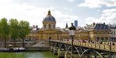 Pont des arts en parís, francia — Foto de Stock
