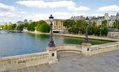 Pont neuf. ny bro i paris, frankrike — Stockfoto
