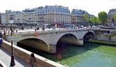 Small bridge in Paris, France — Stock Photo