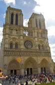 Notre Dame de Paris cathedral, France — Stock Photo