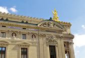 Other side of Grande Opera building, Paris, France — Stock Photo