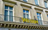 Westin balkon — Zdjęcie stockowe
