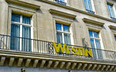 Westin balkong — Stockfoto