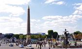 Lugar de la concordia, parís, francia — Foto de Stock