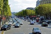 Champs des Elysees, Paris, France — Stock Photo