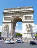 Arco de triunfo del carrusel, parís, francia — Foto de Stock