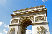 Arc de triomphe du carrousel, paris, frankrijk — Stockfoto