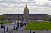 Les invalides, paris — Foto Stock