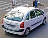 Taxi i paris — Stockfoto