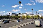 Brodge over Seine — Stock Photo