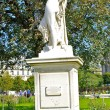 Monument in the Park near the Louvre museum in Paris — Stock Photo