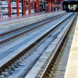 Railways at the station — Stock Photo #13593983