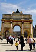 Arc de Triomphe du Carrousel — Stock Photo
