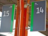 Platform 14 and 15 — Stock Photo