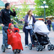 Stock Photo: Family in DIsneyland