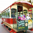Stock Photo: Excursion tramway in DIsneyland