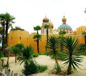 Arabischen Palast in disneyland — Stockfoto