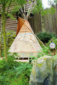 Indian wigwam — Stock Photo