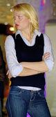 Fashion Russian woman — Stock Photo