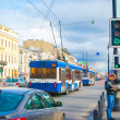 Trolleybus on the street — Lizenzfreies Foto