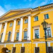 Stock Photo: Building in baroco style with columns in Saint Petersburg