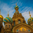 Top of the Cathedral of the Savior on Spilled Blood, Saint Peter — Stock Photo #13732774