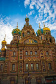 Cathedral of the Savior on Spilled Blood in Saint Petersburg, Ru — Stock Photo