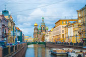Griboedov channel, Saint Petersburg, Russia — Stock Photo