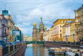 Griboedov channel, Saint Petersburg, Russia — Stock Photo