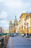 Cathedral of the Savior on Spilled Blood — Stock Photo