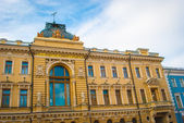 Building in baroco style in Saint Petersburg — Stock Photo