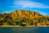 Landscape of the city on the mountain in Mexico — Stock Photo