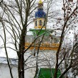 Orthodox church in Russia - Stock Photo