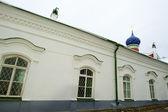 Klokken van het orthodoxe klooster in rusland — Stockfoto