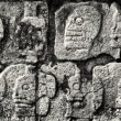 Inscriptions made by indians from Mexico — Stock Photo