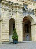 Gate of the castle Fontainebleau, France — Stock Photo