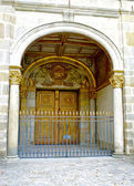 Door of the Castle Fontainebleau, France — Stock Photo
