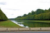 Rybník zámku fontainebleau — Stock fotografie