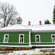 Stock Photo: Green house in the village Mihaylovskoe in winter