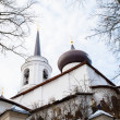 Stock Photo: Monastery Sviatogorskiy, Russia, where writer Alexandre Pushkin is burried