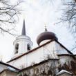 Monastery Sviatogorskiy, Russia, where writer Alexandre Pushkin is burried — Stock Photo