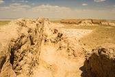 Khwarezm, uzbekistán, poušť, asie — Stock fotografie