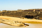 Caesarea Maritima, Medeterranian sea, Israel — Stock Photo