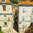 Architecture of Old City of Dubrovnik, Croatia — Stock Photo