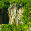 Beautiful waterfall in Croatia — Stock Photo