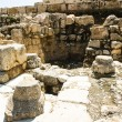 Ruins near the Southern Wall, Jerusalem, Israel. - Stock fotografie