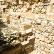 Ruins near the Southern Wall, Jerusalem, Israel. — Stock Photo