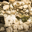 Ruins of the ancient town of Jerusalem, Israel — ストック写真