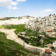 View from above of Jerusalem, Israel — 图库照片