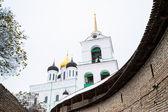 Православная Церковь Кремля Псков, Россия, зима — Стоковое фото